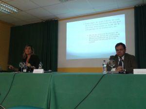 Con Raquel castillejo Manzanares en Valladolid