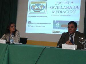 Con Mercedes Rodríguez Tamayo en Valladolid