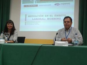 Con Elena Baixauli en Valladolid