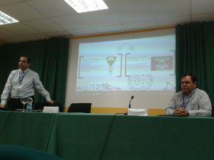 Con Franco Conforti en Valladolid