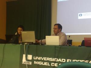 Conferencia en la UEMC