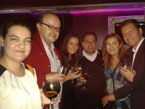 Reyes Coto, Luisja, Mercedes, Charo y Juan
